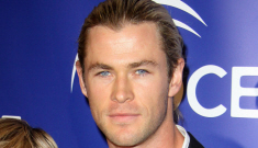 Hulk Hogan wants Chris Hemsworth to play him in a bio-pic.  Sounds right.