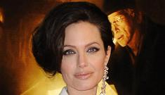 Angelina Jolie goes for 'Dynasty' look at Berlin premiere