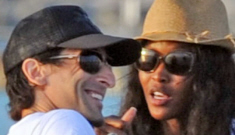Naomi Campbell & Adrian Brody are yachting together in Ibiza: are they loved up?