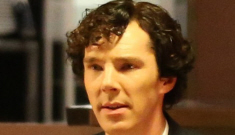 Benedict Cumberbatch wants you to sit down with him and have a cup of coffee