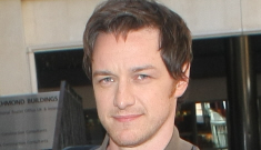 James McAvoy finally shaves his beard & gets a haircut: would you hit it?