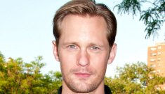Alexander Skarsgard on being so handsome: 'Vanity can be a creative suicide'