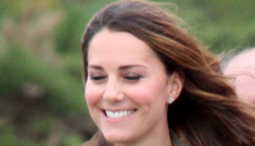 Duchess Kate makes a surprise public appearance with William in Wales: lovely?