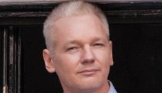 Julian Assange's becoming a Cumberbitch, but he still   hates Benedict's accent