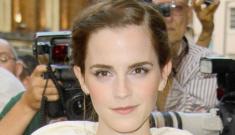 Emma Watson in Balenciaga at the GQ Man of the Year event: tragic or cute?