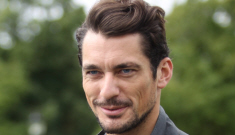David Gandy wants to raise awareness of puppy farms.  In your pants.