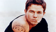 Marky Mark Creeped out by the Gay Thing