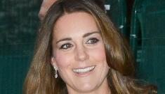 Duchess Kate in a Jenny Packham gown for Tusk Trust dinner: lovely & classic?