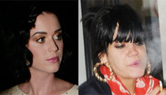 Lily Allen made out with twin sisters; Katy Perry vows celibacy