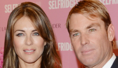 Liz Hurley & Shane Warne, the couple of the century,   probably broke up: nooo!