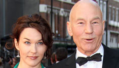 Patrick Stewart & Sunny Ozell release wedding picture: lovely & amazing?
