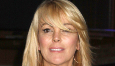Dina Lohan's Long Island mansion is facing foreclosure yet again, of course