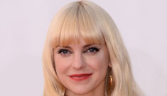 Anna Faris in Monique Lhuillier at the Emmys: glamorous or washed out?