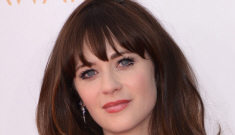 Zooey Deschanel in ice-blue J.Mendel at the Emmys: beautiful or budget?