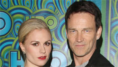 Anna Paquin and Stephen Moyer at the HBO after Emmy party: cute couple?