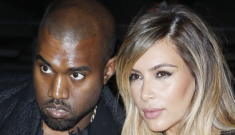 Kim Kardashian & Kanye West attend Givenchy show in   Paris: try-hard or cute?