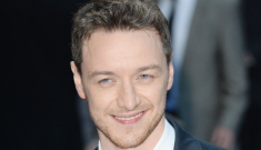 James McAvoy brings the Scottish Thunder to UK premiere: would you shag it?