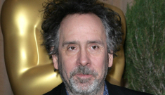 Is Tim Burton cheating on Helena Bonham Carter with a 'mystery blonde'?