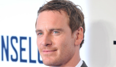 Michael Fassbender promotes 'The Counselor' in London: would you hit it?
