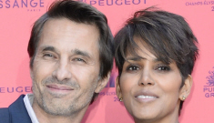 Halle Berry & Olivier Martinez welcomed a son in LA on Saturday