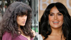 Is this Salma Hayek and is she pregnant?! (update)