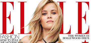 Reese, Shailene, Melissa McCarthy or Penelope Cruz: who has the best ELLE cover?