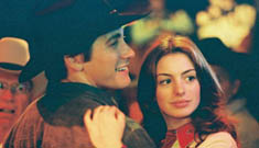 Anne Hathaway says Jake Gyllenhaal asked to touch her boobs in Brokeback