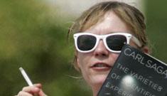 Kiki Dunst embracing her dorky image