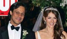 Initial pictures of Liz Hurley's weeklong wedding extravaganza
