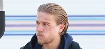Does Charlie Hunnam's '50 Shades' tap-out make him look flaky & unprofessional?