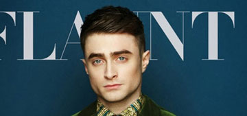 Daniel Radcliffe's covers Flaunt magazine: avant garde   or budget, awful shoot?