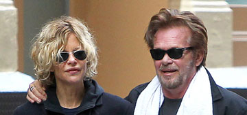 Meg Ryan steps out with John Mellencamp amid news of her new starring role on TV