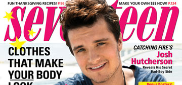 Josh Hutcherson: 'Getting broken up with is worse than breaking up with somebody'