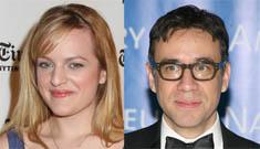 SNL's Fred Armisen and Mad Men's Elizabeth Moss plan their wedding