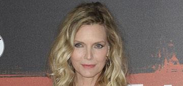 Michelle Pfeiffer, 55, in a Dolce & Gabbana ballerina dress: cloying or timeless?