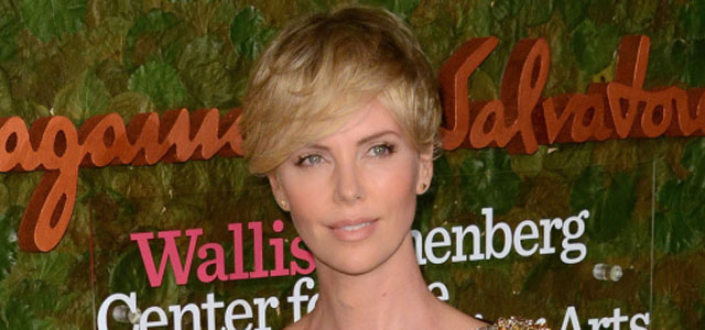 Charlize Theron in Alexander McQueen at Beverly Hills event: stunning or tragic?