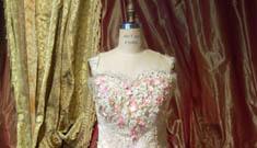 Anna Nicole's funeral dress