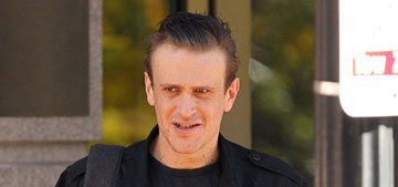 Jason Segel shows off his dramatic weight loss in Boston: would you hit it?