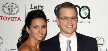 Matt Damon and Luciana at the Environmental Media Awards: adorable couple?