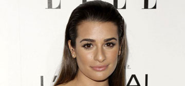 Lea Michele in revealing Calvin Klein at Elle Women in Hollywood: sexy or too much?