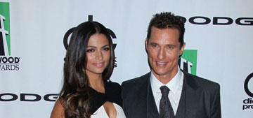Camila Alves & Mathew McConaughey at Hollywood Film Awards: cute couple?