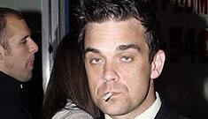 """Robbie Williams goes clubbing to celebrate the end of rehab"" Links"
