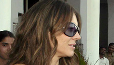 Could Liz Hurley Already Be Pregnant?