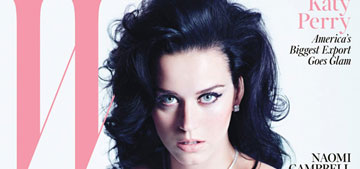 Katy Perry covers W, rips Russell Brand: 'Finally, I am able to speak up for myself'