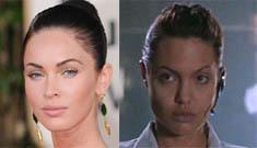 Will Megan Fox replace Angelina Jolie as Lara Croft?