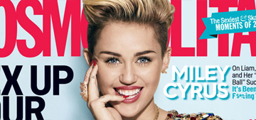 Miley Cyrus: 'I'm punk rock & underdog in a cool way. Society wants to shut me down'