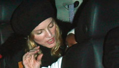 Madonna is immune to your criticism, child safety laws