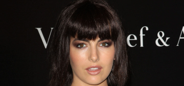 """Camilla Belle showed off her new, unfortunate, blunt-cut bangs"" links"