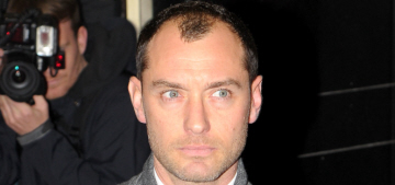Jude Law: 'For 3 months my diet was whiskey, f-gs, hamburgers & ice cream'