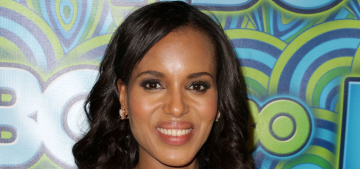 Us Weekly: Kerry Washington is pregnant, 'she's about four months along'